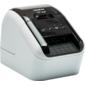 Принтер Brother QL-800 стационарный серебристый / черный