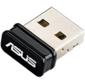 ASUS USB-N10 Nano WiFi Adapter USB  (USB2.0,  WLAN 150Mbps,  2.4GHz,  802.11bgn) 2x int Antenna