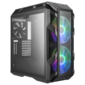 Cooler Master MasterCase H500M, USB3.0x4, USB3.1(Type-C)x1, 2x200RGBFan, 1x140Fan, IronGrey, Full Tower, w/o PSU