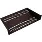 ЦМО Полка перфорированная консольная 2U,  глубина 300 мм, цвет черный  (МС-30-9005)