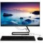 "Lenovo IdeaCentre AIO 3 24IIL5   23.8"" (1920x1080) / Intel Core i7 1065G7 (1.3Ghz) / 8192Mb / 1000+128SSDGb / DVDrw / Int:Intel Iris Plus / BT / WiFi / war 1y / 5.87kg / black / DOS + Клавиатура,  мышь USB"