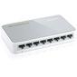 TP-Link TL-SF1008D Коммутатор 8-port 10 / 100M mini Desktop Switch,  8 10 / 100M RJ45 ports,  Plastic case
