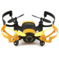 Квадрокоптер JXD Elfin 0.3Mpix ПДУ черный / желтый