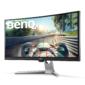 """МОНИТОР 35"""" BenQ EX3501R Grey VA, изогнутый, LED, 3440x1440, 4 ms, 178°/178°, 300 cd/m, 20M:1, +2xHDMI, +DisplayPort, +2xUSB, +USB-Type C, +регулировка по высоте"""