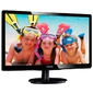 "Philips 19, 53"" 200V4QSBR 1920x1080 MVA LED 16:9 8ms VGA DVI-D 10M:1 178 / 178 250cd Black"