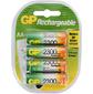 Аккумулятор GP Rechargeable NiMH 230AAHC 2300mAh AA  (4шт. уп)