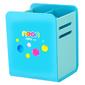 Подставка Deli EH85104 Neon для пишущих принадлежностей 80x85x105мм ассорти пластик