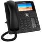 SNOM Global 785 Desk Telephone Black