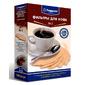 Фильтры для кофе для кофеварок Topper №2 неотбеленные 1x2  (упак.:100шт)