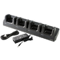 Honeywell EDA60K 4-bay terminal charging cradle for recharging 4 devices. Kit includes dock,  power supply and EU power cord