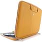 Smart Sleeve MacBook / Ultrabook 15'' Yellow Leather inner size 370x250x20 [CLNR1503]