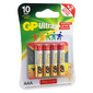 Батарея GP Ultra Alkaline 24AUGLNEW LR03 AAA  (промо:Подари Жизнь!)  (4шт)