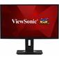 """МОНИТОР 27"""" Viewsonic VG2748 Black с поворотом экрана IPS,  LED,  1920x1080,  5 ms,  178° / 178°,  300 cd / m,  50M:1,  +HDMI,  +DisplayPort,  +4xUSB,  +MM"""
