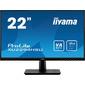 Монитор жидкокристаллический Iiyama Монитор LCD 21.5'' [16:9] 1920х1080 (FHD) VA,  nonGLARE,  250cd / m2,  H178° / V178°,  3000:1,  80M:1,  16.7M,  4ms,  VGA,  HDMI,  DP,  USB-Hub,  Tilt,  Speakers,  3Y,  Black