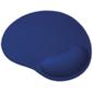 Trust Mouse PAD Bigfoot,  236x205mm,  Microfiber,  Material inside - Gel,  Blue [20426]