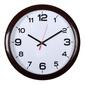 Часы настенные аналоговые Бюрократ WALLC-R87P D29см темно-коричневый / белый