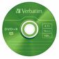 Диск DVD+R 4.7ГБ 16x Verbatim 43556 Slim цветные  (5шт. / уп.)