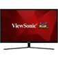 "Viewsonic 32"" VX3211-2K-MHD IPS LED,  2560 x 1440,  3ms,  250cd / m2,  178° / 178°,  80Mln:1,  D-Sub,  HDMI,  Display Port,  Tilt,  колонки,  Headphone Out,  VESA,  Black"