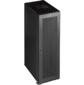 """Шкаф 19"""" Business, 47U 800x800, черный, передняя дв. перфорир., задняя дв. распашная перфорир."""