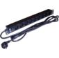 Управляемый блок распределения питания Lanmaster TWT-PDU19-16A9P-3.0 верт.размещ. 8xC13C13 базовые 10A C14