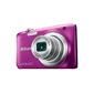 Фотоаппарат цифровой Nikon A100 фиолетовый,  20Mpx CCD,  zoom 5x,  HD720,  экран 2.6'',  Li-ion