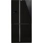 Холодильник Sharp SJ-FJ97VBK черный  (трехкамерный)
