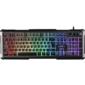 Defender Проводная игровая клавиатура Chimera GK-280DL RU, RGB подсветка,  9 режимов