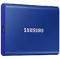 SSD Samsung T7 External 2Tb  (2048GB) BLUE TOUCH USB 3.2  (MU-PA1T0B / WW)