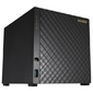 ASUSTOR AS1004T/V2 4-Bay NAS/CPU (2Core)/512MBDDR3/noHDD,LFF(HDD,SSD)/1x1GbE(LAN)/2xUSB3.0/4ip camera license