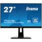 "Монитор Iiyama 27"" XUB2792UHSU-B1 черный IPS LED 4ms 16:9 DVI HDMI M / M матовая HAS Pivot 1000:1 300cd 178гр / 178гр 3840x2160 DisplayPort QHD USB 6.4кг"