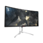 "МОНИТОР 35"" AOC AGON AG352UCG Silver-Black с поворотом экрана  (MVA,  изогнутый,  3440x1440,  4 ms,  178° / 178°,  300 cd / m,  2000:1,  +HDMI,  +DisplayPort,  +2xUSB,  +MM)"