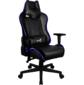 Кресло для геймера Aerocool AC220 RGB-B ,  черное,  с перфорацией,  с RGB подсветкой,  до 150 кг,  размер,  см  (ШхГхВ) : 66х63х125 / 133.