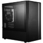 Cooler Master MasterBox NR400,  w / o ODD,  2xUSB3.0,  2x120Fan,  w / o PSU,  mATX,  Black