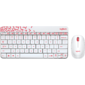 Logitech Wireless Desktop MK240 Nano White Retail Combo