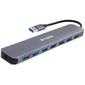 D-Link DUB-1370 / B1A Концентратор с 7 портами USB 3.0  (1 порт с поддержкой режима быстрой зарядки)