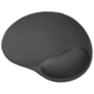 Trust Mouse PAD Bigfoot,  236x205mm,  Microfiber,  Material inside - Gel,  Black [16977]