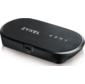 Портативный LTE Cat.4 Wi-Fi маршрутизатор Zyxel WAH7601  (вставляется сим-карта),   802.11n  (2, 4 ГГц) до 300 Мбит / с,  поддержка LTE / 4G / 3G / 2G,  питание micro USB,  батарея до 8 часов