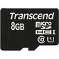Флеш карта microSD 8GB Transcend microSDHC Class 10 UHS-I