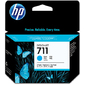 HP 711 3-Pack 29-ml Cyan Ink Cartridge