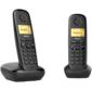 Р / Телефон Dect Gigaset A170 DUO RUS черный  (труб. в компл.:2шт) АОН