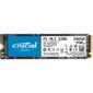 Crucial CT250P2SSD8 P2 SSD 250GB,  M.2  (2280),  PCIe Gen 3.0,  NVMe,  R2100 / W1150,  150 TBW