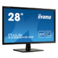 "Iiyama X2888HS-B2 LCD 28"" 16:9 1920х1080 MVA,  nonGLARE,  300cd / m2,  H178° / V178°,  3000:1,  12М:1,  16, 7M Color,  5ms,  VGA,  DVI,  HDMI,  DP,  Tilt,  Speakers,  MHL,  3Y,  Black"