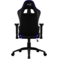 Кресло для геймера Aerocool AC120 RGB-B ,  черное,  с перфорацией,  с RGB подсветкой,  до 150 кг,  размер,  см  (ШхГхВ) : 70х55х124 / 132