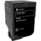 Lexmark CS720,  CS725,  CX725 Black Standard Yield Return Program Toner Cartridge 7, 000 pages  CS720,  CS725,  CX725