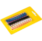 Набор цветных маркировочных кабельных клипс с цифрами,  для кабелей диаметром до 5.5 мм