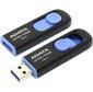 Флеш накопитель 128GB A-DATA UV128,  USB 3.0,  черный / синий