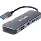 D-Link DUB-1325 / A1A Концентратор с 2 портами USB 3.0,  1 портом USB Type-C,  слотами для карт SD и microSD и разъемом USB 3.0