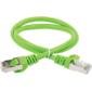 Коммутационный шнур  (патч-корд) кат.6 FTP PVC 0, 5м зелёный  (PC02-C6F-05M)