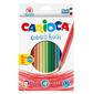 Карандаши цветные Carioca 41865 18цв. точилка коробка / европод.