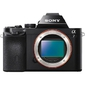 "Sony Alpha ILCE-7B Body,  24.3Mpix,  3"",  1080p,  MS Pro SDXC,  CMOS,  IS,  el,  turLCD,  rotLCD,  RAW,  HDMI,  NP-FW50,  black"